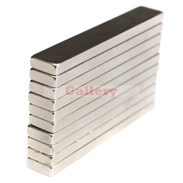 2015 Direct Selling Hot Sale Imanes Neodymium Magnets 5pcs N50 Super Strong Block Cuboid Magnets 60x10x4 Mm Rare Earth Neodymium<br><br>Aliexpress