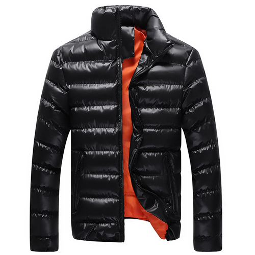 Winter Jacket Men Parka Fashion Brand Outdoor Down Jackets Stand-collar Male Slim Casual Cotton Jackets Black Green Blue M-XXL(China (Mainland))