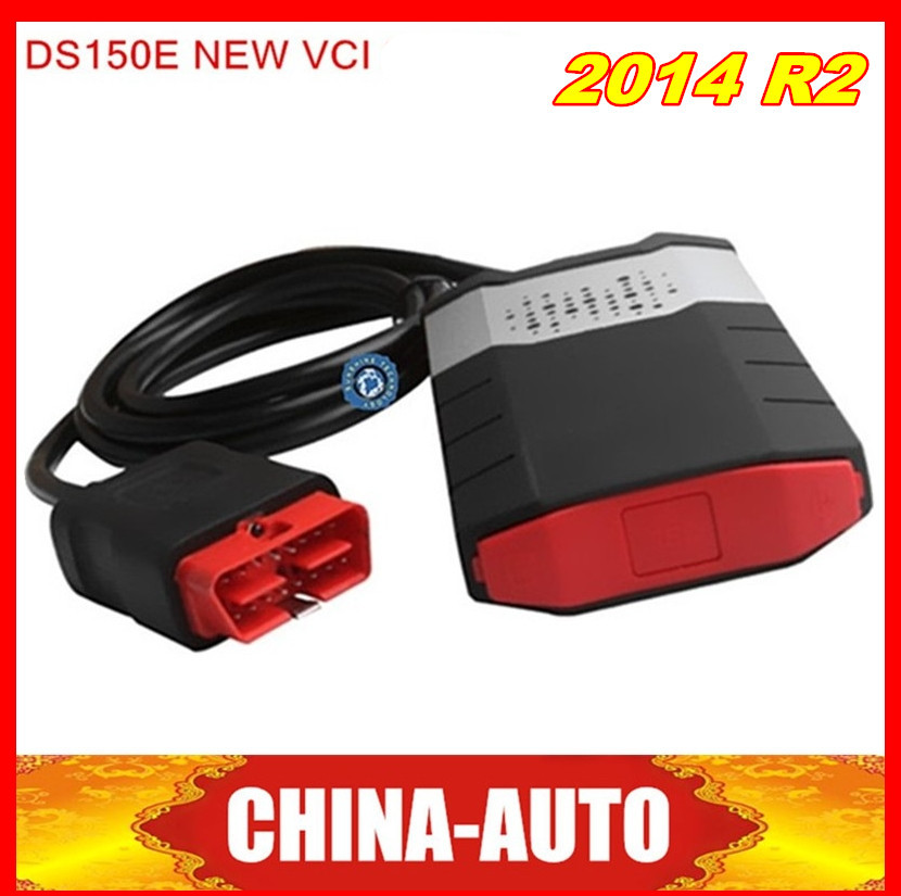 Newest 2014.02 DS150 Without bluetooth Diagnostic Tool TCS CDP PRO Plus ds150e Bluetooth fast shipping(China (Mainland))