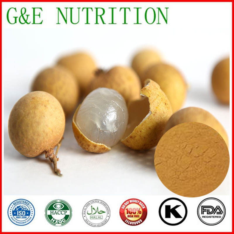High quality natural plant extract Dried Longan Pulp Extraction powder  20:1  1000g<br><br>Aliexpress