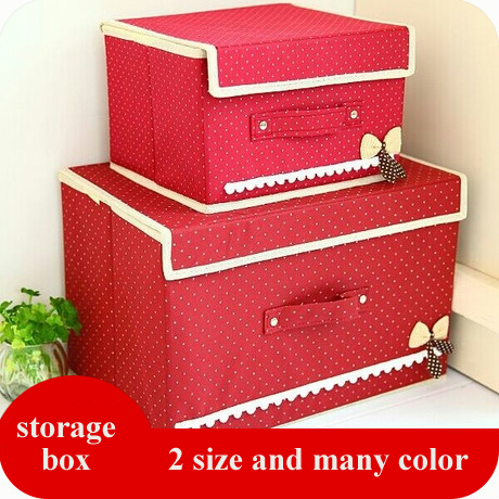storage box Nonwoven Fabric Organiser Bag foldable toys storage bin big size cloth storage box(China (Mainland))