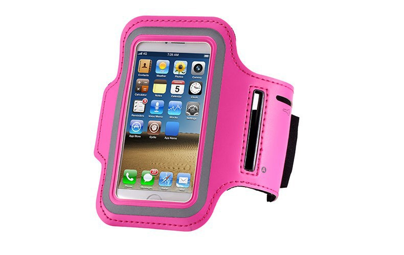 Waterproof Sports Running Arm Band Leather Brush Case For Apple iPhone 5 5S 5G Holder Hand Arm Bag Band GYM(China (Mainland))