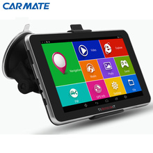7″ Android 4.4 Car GPS Navigation navigator MT8127A Quad-core Bluetooth WIFI Navitel/Europe/Russia Map Vehicle gps Capacitive
