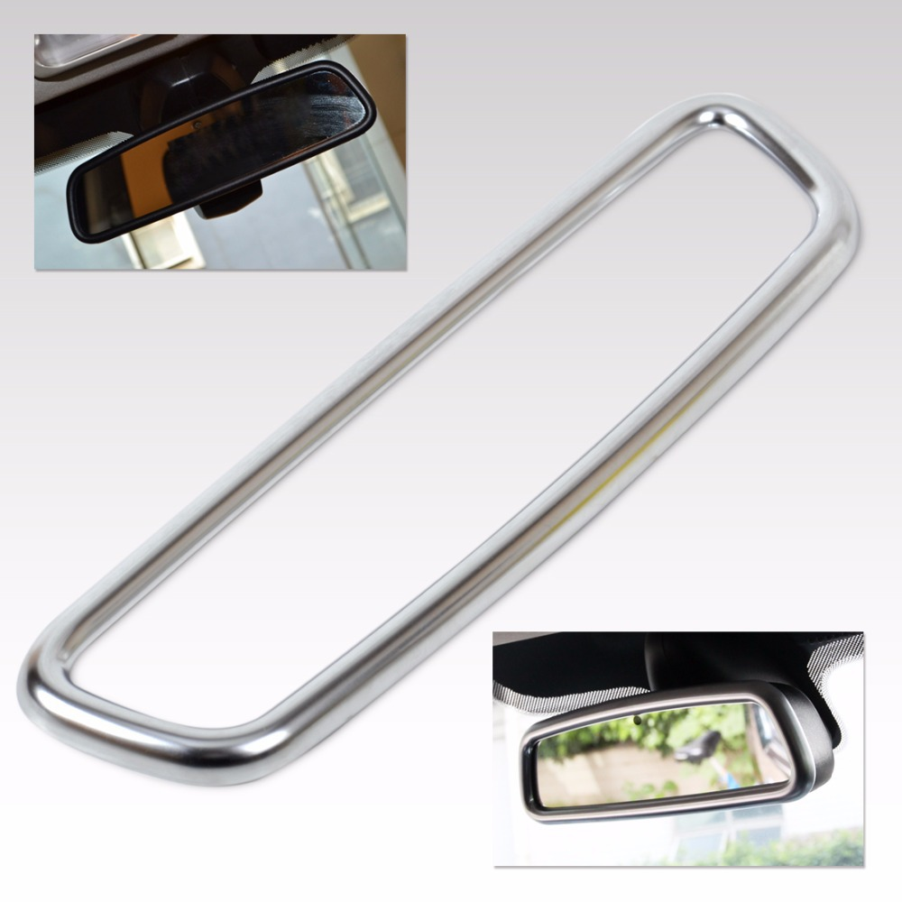 New Chrome Interior Rear View Mirror Cover Trim Mouldings For Land Rover Range Rover Sport