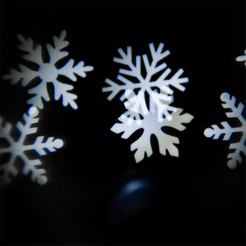 Купить 1X Открытый Снежинка СВЕТОДИОДНЫЙ Проектор Бра Пейзаж Светлый Праздник Прожектор Свадьбы Рождество Зима Снег Светодиодные Фонари