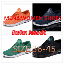 2015 SB Stefanes Janoskiing brand High Quality Running shoes men and women Fashion Sport Sneakers EUR Size: 36-45(China (Mainland))