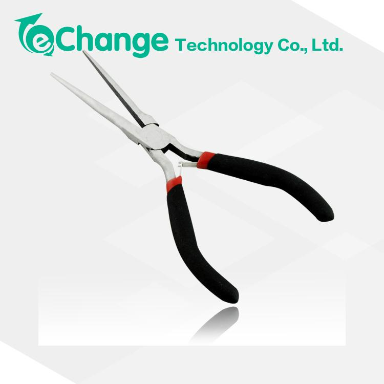 Гаджет  Plastic Coated Handles Professional Hand Tool Long Nose Jeweler Needle Nose Pliers For Jewelry Beading Crafts EN1040 None Инструменты