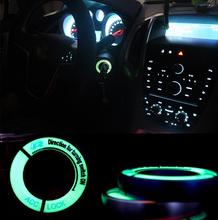 Buy Luminous ignition key ring Switch cover stickers Volkswagen VW GOLF 4 GOLF 6 GOLF 7 MK7 JETTA MK6 MK5 POLO Passat B5 B6 B7 for $1.96 in AliExpress store