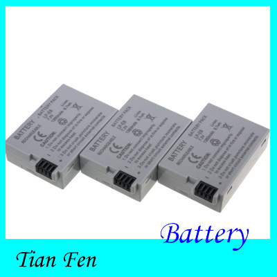 Гаджет  Hot Sale 3pcs Battery LP-E8 LP E8   LP E8   Rechargeable Camera Battery For 550D 600D Rebel T2i EOS Kiss X4 None Бытовая электроника