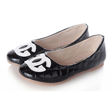 New Brand Girls Princess Summer Flats Sandals Casual Children Round Toe Ballet Ballerina Designer Kids Dance