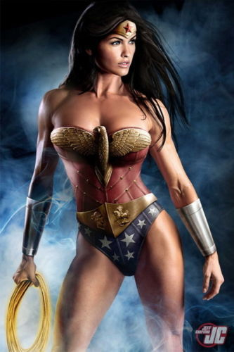"""009 Wonder Woman - Sexy Girl Justice League 20""""x30"""" Poster Wall Sticker For Lover Student Room(China (Mainland))"""