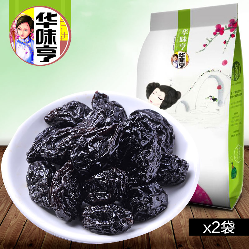 Prune 108gx2 snacks prune preserved fruit dried fruit casual snacks independent small package<br><br>Aliexpress