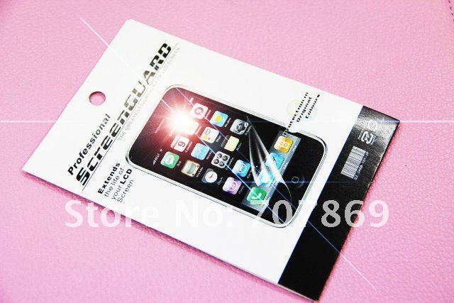 Wholesale For Samsung C6712 Mirror  Screen  Protector Film Cover + high quality + free & fast shipping