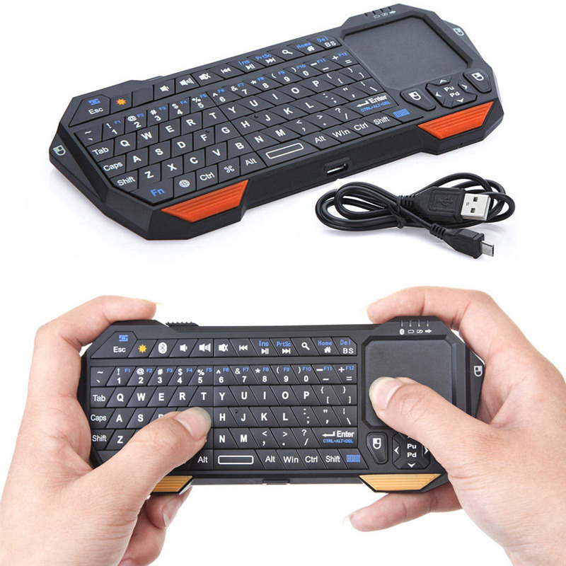 New Ultra thin and Lightweight 3 in 1 Mini Wireless Bluetooth Keyboards Mouse Mice Touchpad For Windows For Android For iOS(China (Mainland))
