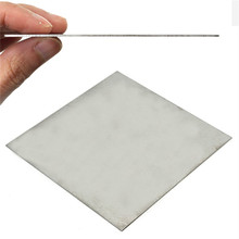 Buy 1mm x 100mm x 100mm Titanium Metal Plate Titan Platte Sheet Gr.5 Gr5 Grade 5 Ti Temperature 400-600 Degree Corrosion Resistance for $6.70 in AliExpress store