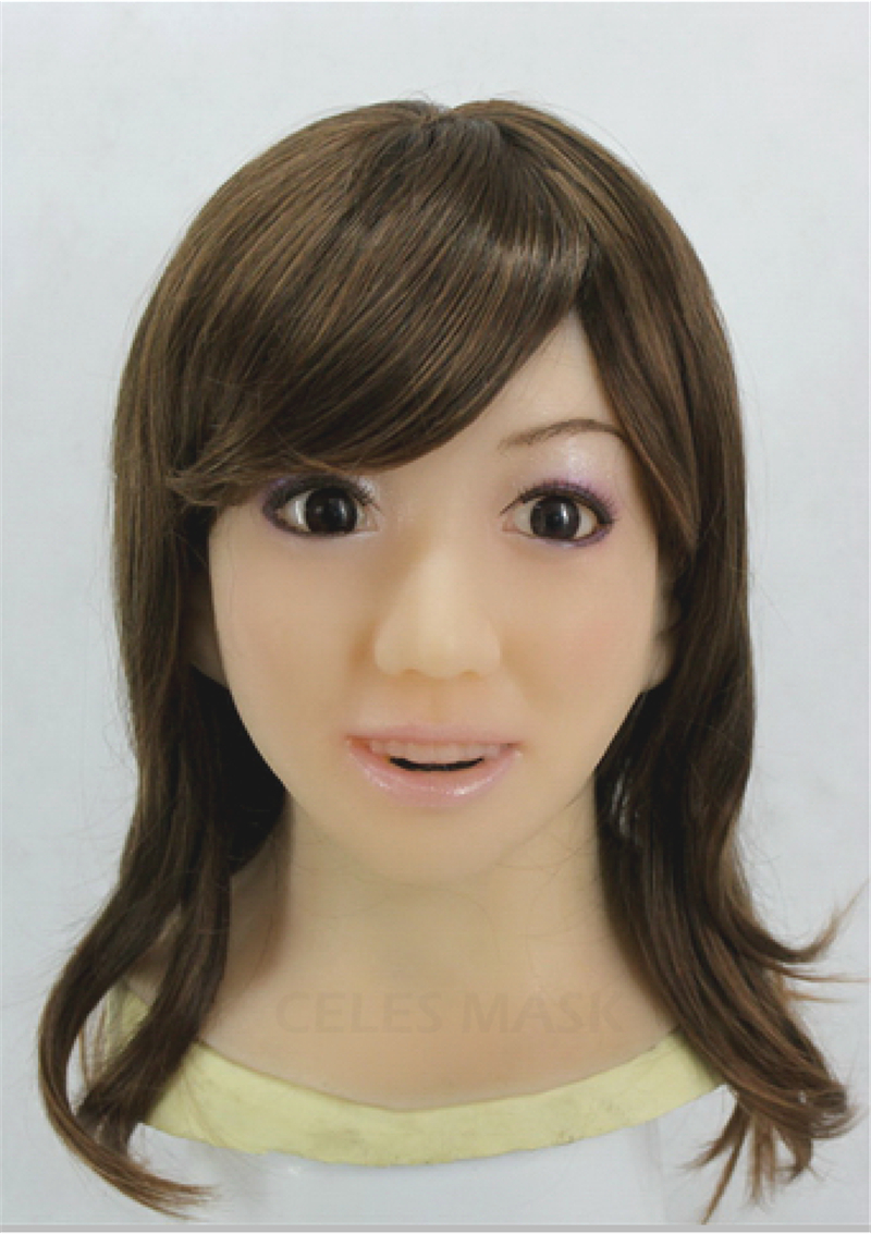 2016 New Crossdresser rubber latex MASK Party crossdress Female Silicon Mask full head mask male silicone realistic [RF4]  -  Royal Material Technology Co., Ltd store