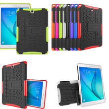 HH Hybrid Rugged Combo Heavy Duty Hard Cover Case for Samsung Galaxy Tab A 9.7 SM T551 T555 T550 Stand Tablet PC Case