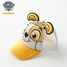 2018 Genuíno PATA Patrulha Algodão Bonito Filhote De Cachorro Impressão Chapelaria Chapeau Chapéus Tampas de verão das Crianças brinquedo de Presente de Aniversário Do Partido Dos Miúdos(China)