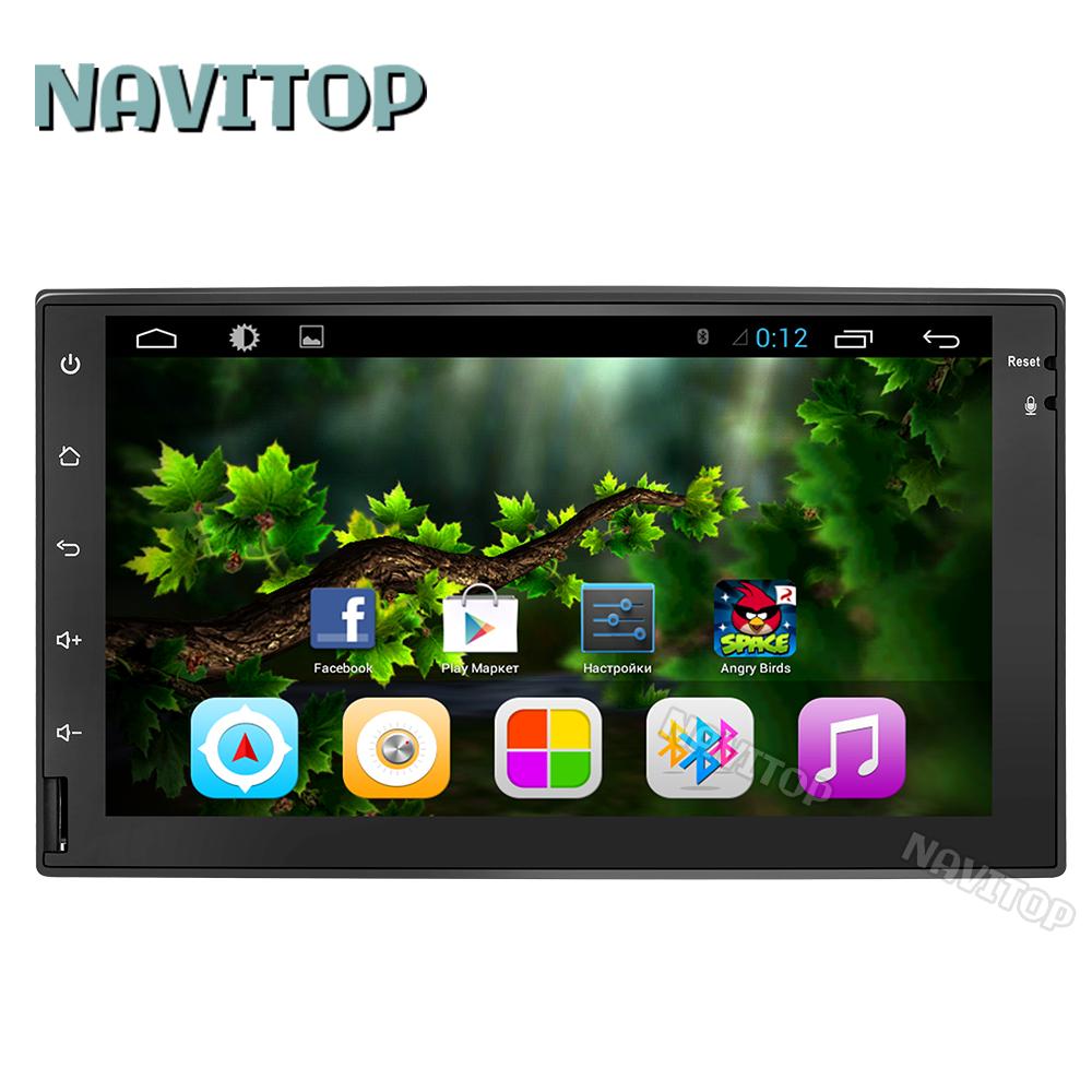 Navitop 2 din android 6.0 universal car dvd player gps juke qashqai almera x-trail for nissan gps radio video head unit(China (Mainland))