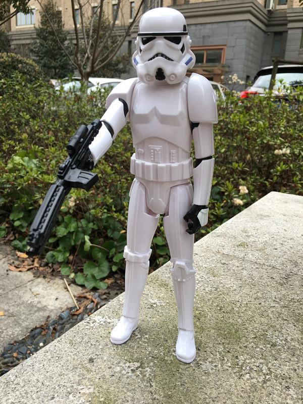 Geniune Star Wars Stormtrooper w weapon 12 Action Figure New No Package