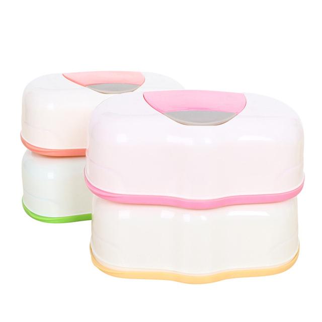 Салфетки Коробка Пластиковые Мокрой Тканью Автоматическая Случае Pop-up Дизайн Ткани Детские Салфетки Хранения Организатор Box HG0308