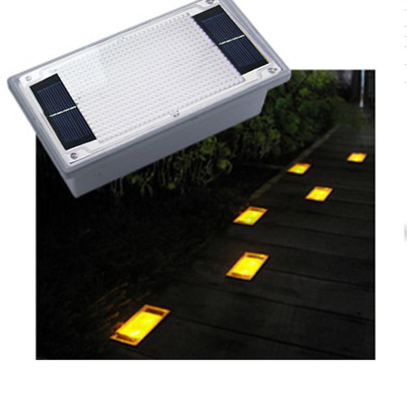 LED Underground Lights Solar Power LED Deck Light Garden Outdoor Lighting Landscape Lamp Solar Panel LED reflector Floor Light(China (Mainland))