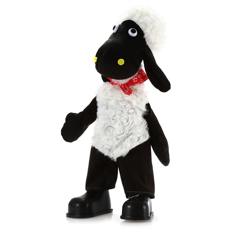 2016 New Popular Original 15 inch Sheep Style Musical Shaking Head Plush Kids Toys Stuffed Doll Decoration Gift(China (Mainland))