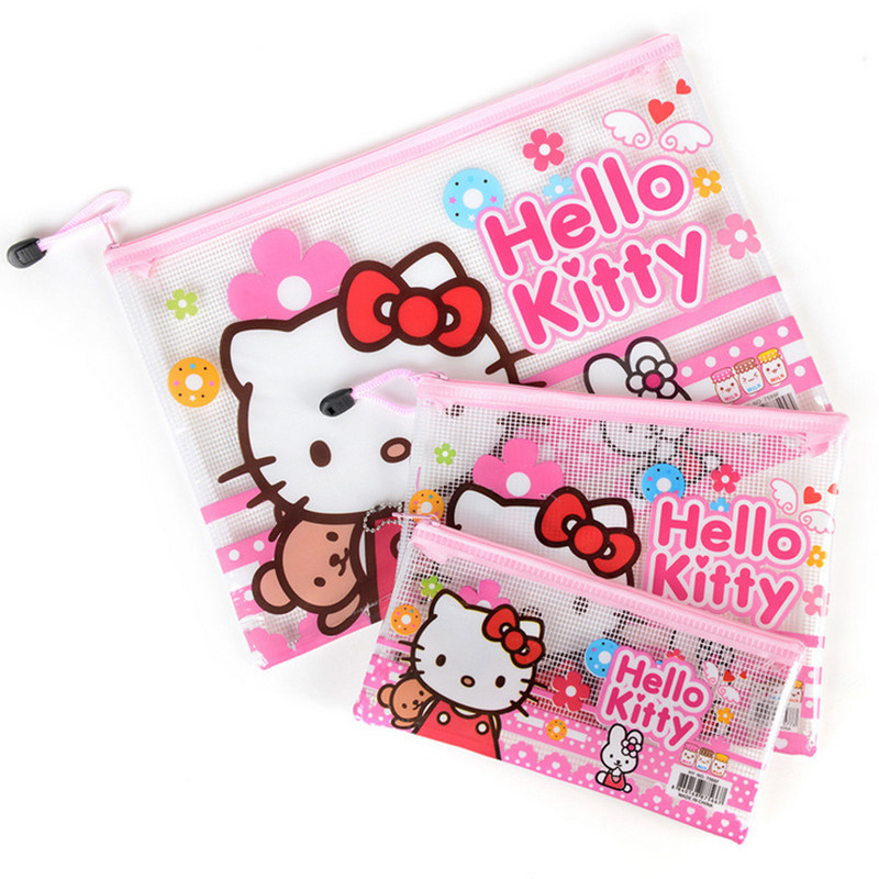 1pcs Women Portable Cute hello kitty Multifunction Beauty ZipperTravel Cosmetic Bag Makeup Case Toiletry Pouch Pen Purse bag 196(China (Mainland))