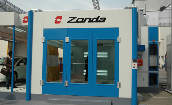Zonda paint booth spray booth exported to France(China (Mainland))