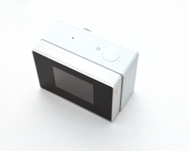 Yi Accessories Display + Backup Battery Back Clip Lcd Screen External Touch for xiaomi yi action camera