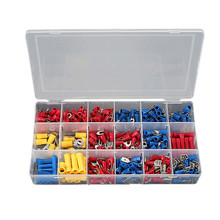 Industry Assistance 300pcs Mixed Assorted Insulated Crimp Terminals Sleeve Kit Electrical Insulated Wires Connector Spade Set(China (Mainland))