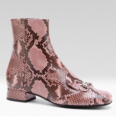 Женские ботинки Horsebit Python 34/42