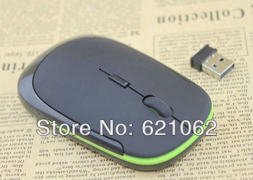 1200 DPI Ultra Thin 2.4G USB 2.0 Wireless Mouse Slim Mice 2.4G Receiver for Laptop PC Desktop DPI 3 modes adjustable