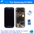 For Samsung Galaxy S4 mini I9190 i9192 i9195 LCD Display Touch Screen Frame Assembly Black White