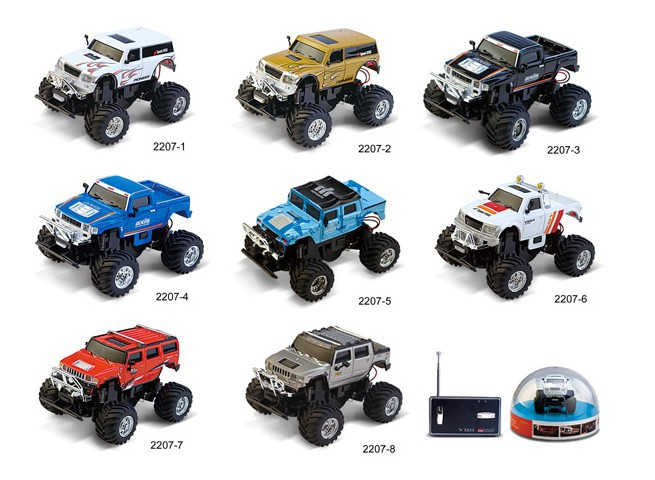 Super Mini Hummer 1:58 Remote Control Toys Hummer RC Car 2015 New Year Gift With Original Box Free shipping(China (Mainland))