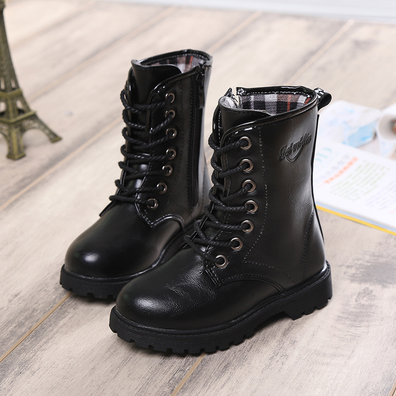 autumn and winter boots factory outlet high children's ...