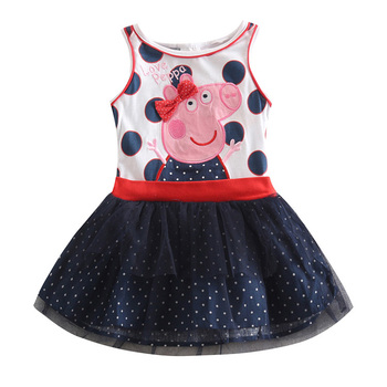 Одеваются дети платье для девочек одежды мода марка novatx дети девушка ну вечеринку платье принцессы детей малышей одежда