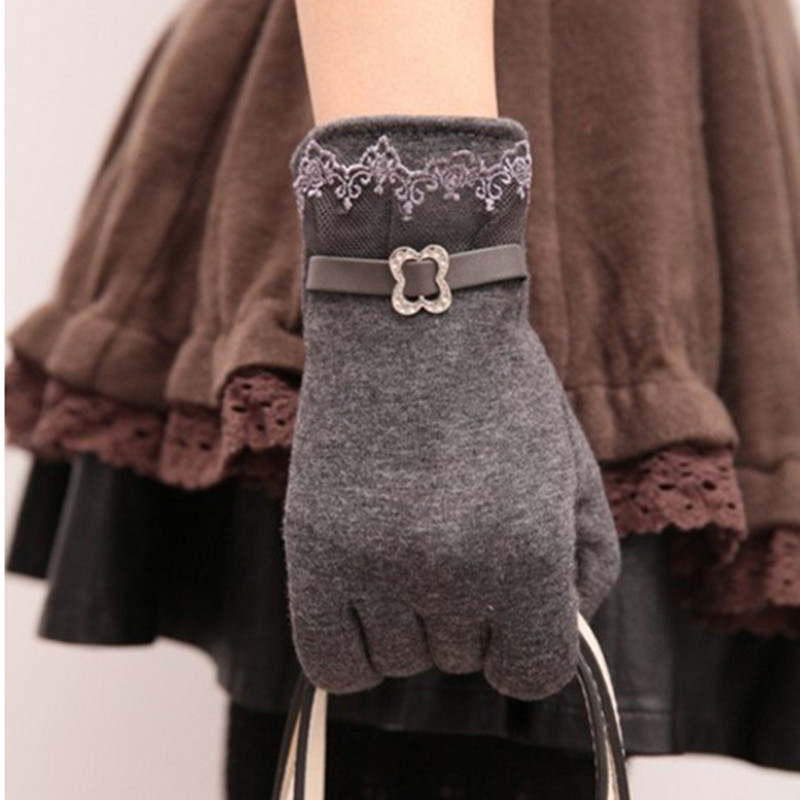 Женские перчатки для сенсорного экрана фото