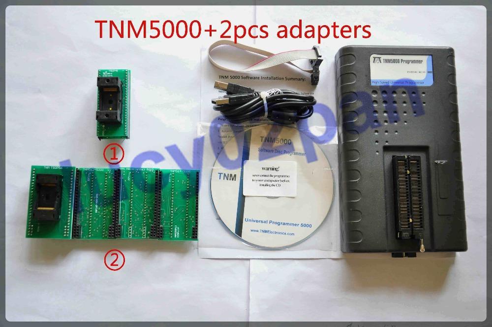 Гаджет  TNM5000 USB Universal Programmer with ADP548T2,ADP556T2 adapters None Электронные компоненты и материалы