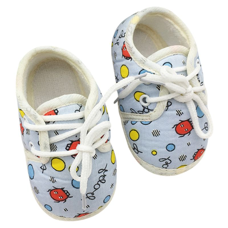 Lovely Cartoon Pattern Baby ShoesToddler Infant Unisex Soft Sole Non-Slip Shoes First Walkers New