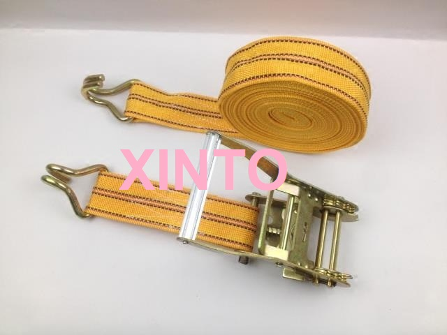 "2"",55MM,5TX15M Aluminum alloy steel handle,ratchet tie down cargo lashing shipping package strap car auto truck assembly sling(China (Mainland))"