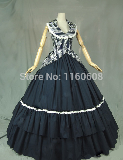 Victorian Vintage Inspired Dress Ball Gown Bodice Jacket Cosplay Reenactment Clothing(China (Mainland))