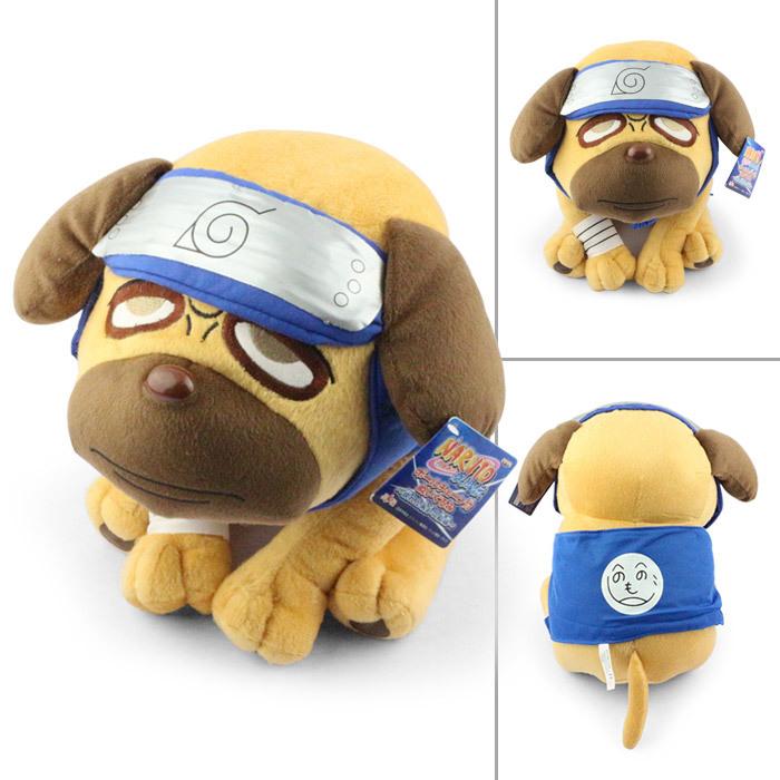 Japanese Anime Cartoon Naruto 1 pcs 40cm Naruto Kakashi Pakkun Dog Plush Toy Retail(China (Mainland))