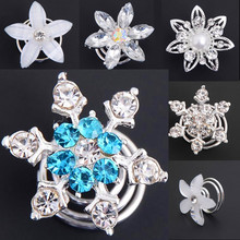Buy 6pcs Bridal Wedding Prom Crystal Pearl Flower Hair pins Swirl Spiral Twist Snowflake Hairpin Clip Accessories Tiara Hair Jewelry for $1.40 in AliExpress store