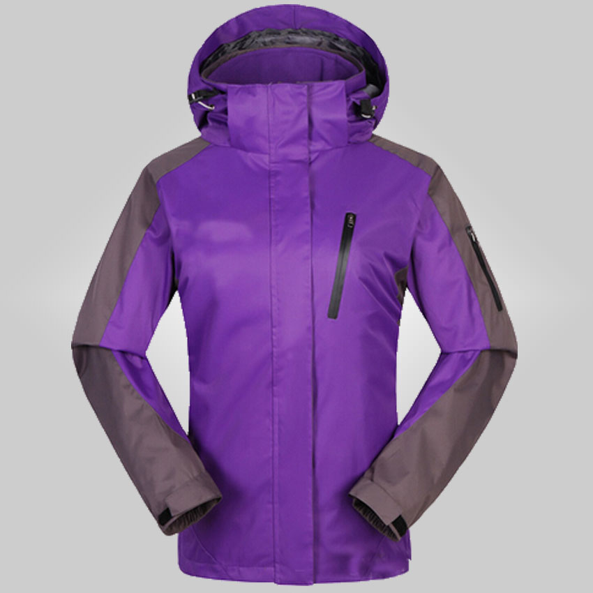 2015 new winter women two sets three one thick couples ski mountaineering S-2XL 160df