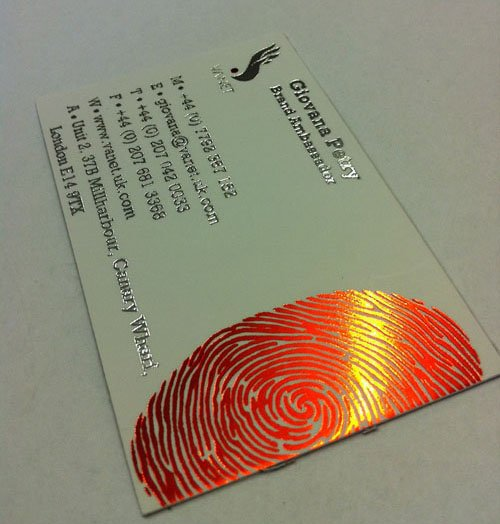 2015 High-end Customized Business card Printing Colorful Hot Silver/Red/Gold Stamping 600gsm White Visiting/Name cards 90*54mm<br><br>Aliexpress