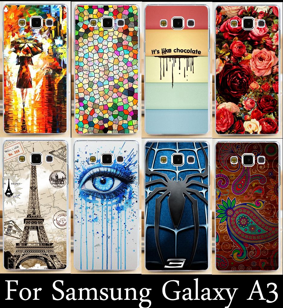 22 стилей мода diy отпечатано жесткий mobilephone чехол мобильного телефона чехол гуд крышка чехла для samsung galaxy a3 a3000 a300 a300f