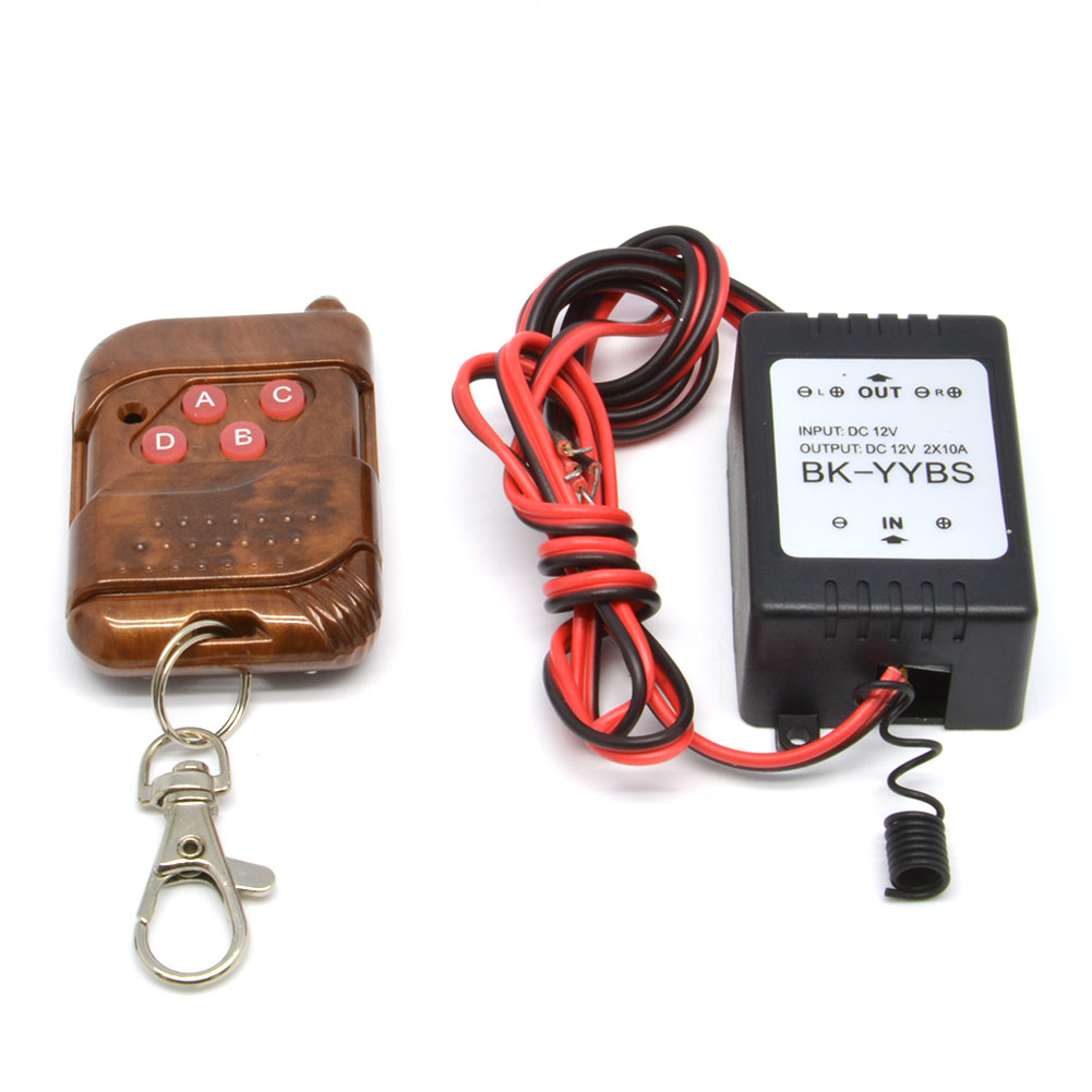Hot 12V Wireless Remote Control Module W Strobe For Car Light LED Strips 3 2AFree Shipping