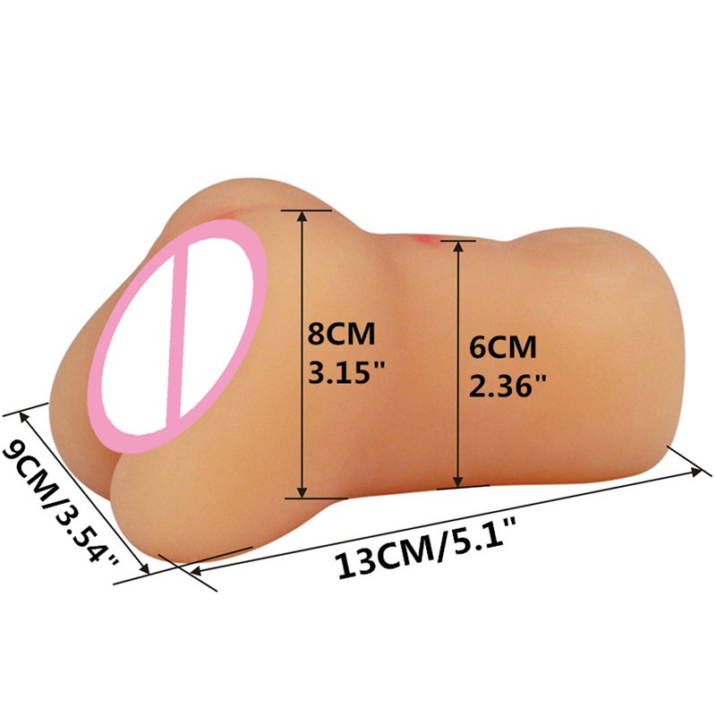Realistic artificial vagina male masturbator japan masturbation cup sextoys adults for men pocket pussy sex toys Vibrator hole(China (Mainland))