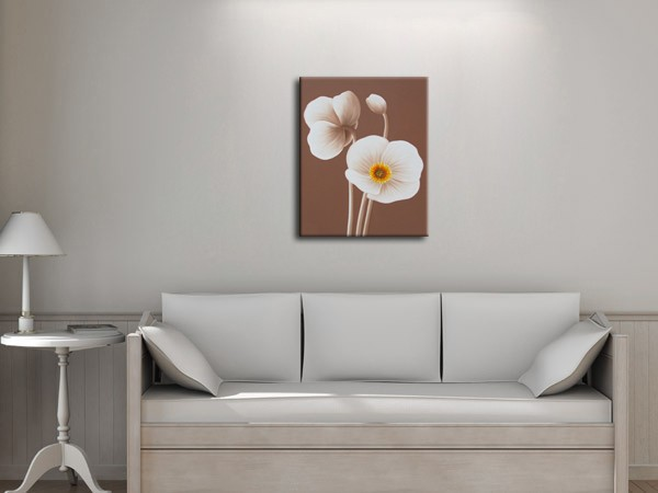 Ordinary Living Room Wall Pictures Flowers Painting for Home Decoration Hand Made Oil Painting Wall Canvas Art(China (Mainland))